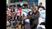 Wattrelos : entre 550 et 700 salariés de La Redoute dans la rue ce jeudi matin