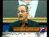 Haider Abbas Rizvi reply Pervez Rasheed statement on MQM Quaid Altaf Hussain 18th March speech