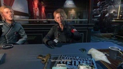 Dans le train pour Berlin de Wolfenstein: The New Order