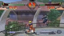 Naruto Clash of Ninja 2 HD on Dolphin Emulator (Widescreen