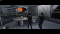 Men in Black II Alien Escape HD on Dolphin Emulator (Widescreen Hack) part1