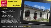 A vendre - appartement - SAUMUR (49400) - 4 pièces - 120m²
