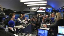 Henri Guaino et Manuel Valls au micro d'Europe 1