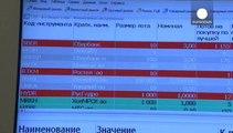 La economía rusa comienza a sufrir el impacto de las sanciones impuestas por la anexión de Crimea