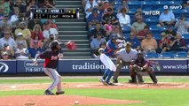 Las Grandes Ligas  Noticias  Ervin Santana lanz #243; dos innings en debut por Bravos