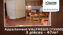 A vendre - appartement - VALFREJUS (73500) - 3 pièces - 47m²