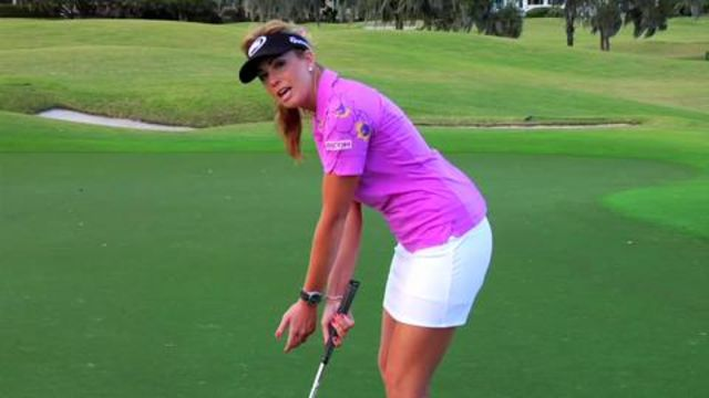 Putting – Paula Creamer: Short-Putt Drill