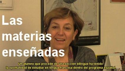 Sections bilingues franco-espagnoles Bachibac : un choix d'avenir (mars 2014)
