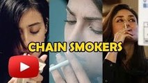 Top 5 Bollywood Actresses Who Are Chain-Smokers
