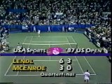 US Open 1987 1-4 Final - Ivan Lendl vs John McEnroe FULL MATCH