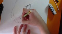 Speed Drawing Holding Hands Mani Disegno a matita