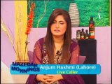 Mazedar Morning with yasmeen mirza on indus television 20-03-2014 Part 01