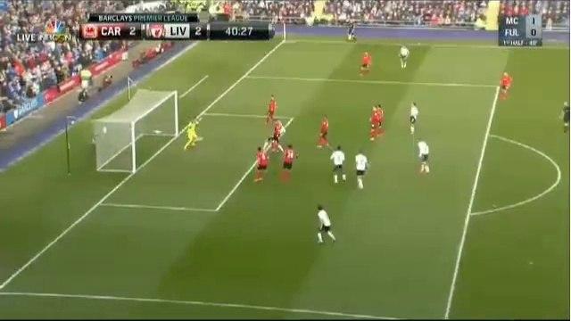 Skrtel Goal ~ Cardiff City vs Liverpool 2-2 22/03/2014