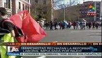 Miles de españoles inundan Madrid en la marcha de la dignidad