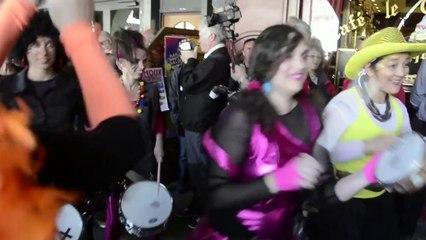 Carnaval de Limoux 2014, las Femnos