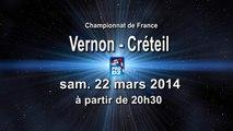 SVM Vernon St Marcel / US Créteil HB - handball ProD2 revoir