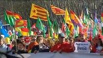 Miles de personas cierran las Marchas por la Dignidad