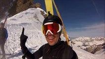 Ski de randonnée dans les Savoie 2014
