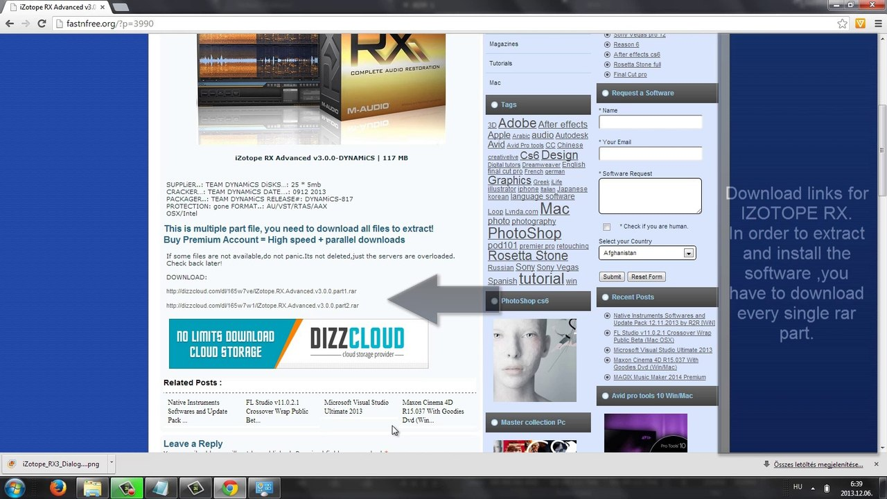 iZotope RX Advanced free download