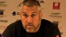 Rugby Top 14 - Christophe Urios après Oyonnax - Montpellier (2e partie)
