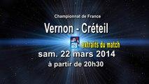 Extraits SMV Vernon / US Créteil Handball ProD2