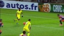 But Serge GAKPE (3ème) - FC Nantes - Montpellier Hérault SC - (2-1) - 22/03/14 - (FCN-MHSC)