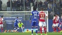 But Florian RASPENTINO (9ème) - SC Bastia - Stade de Reims - (2-0) - 22/03/14 - (SCB-SdR)