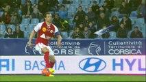 But Gianni BRUNO (42ème) - SC Bastia - Stade de Reims - (2-0) - 22/03/14 - (SCB-SdR)