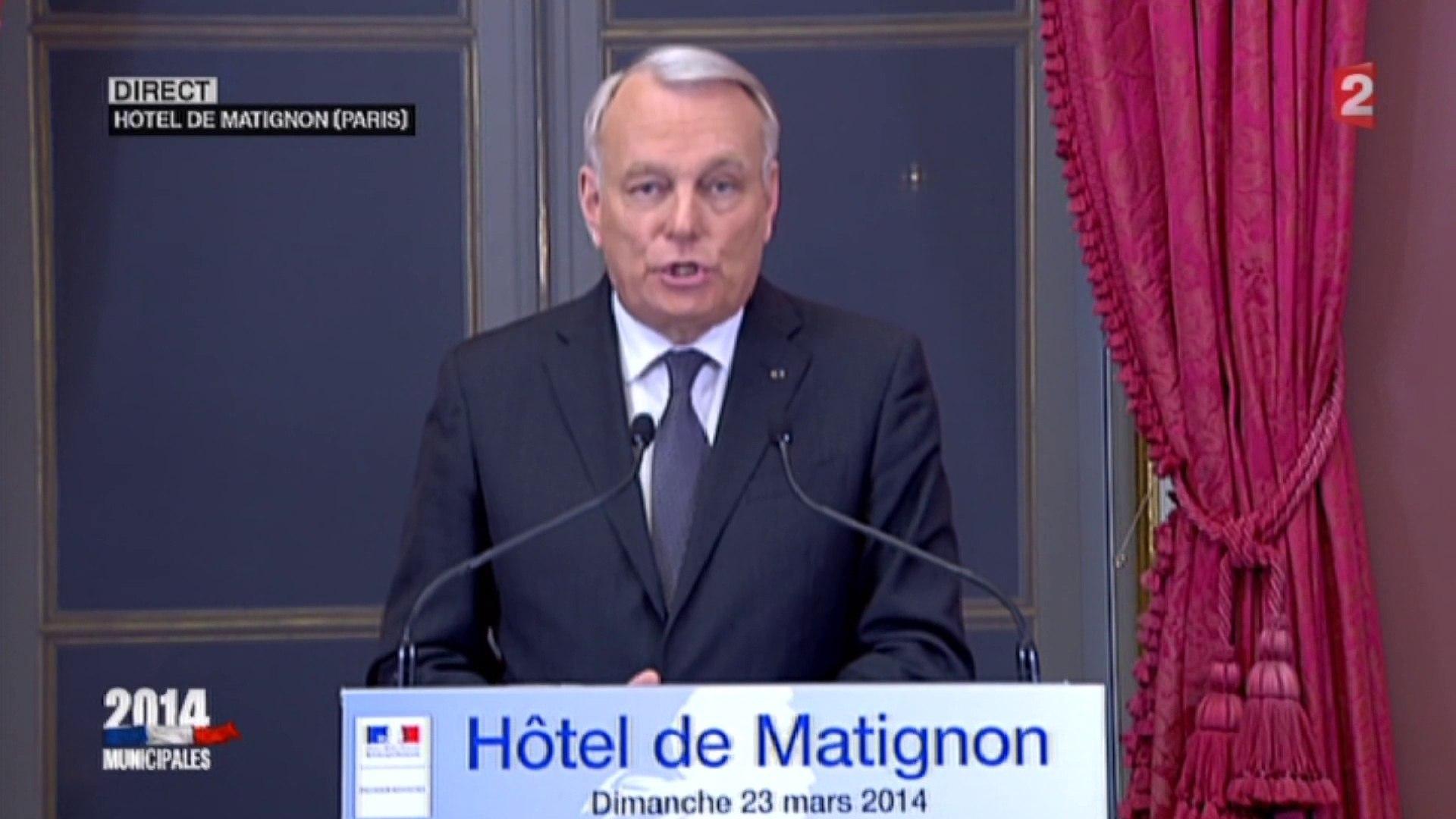 Jean-Marc Ayrault appelle à faire barrage au Front national