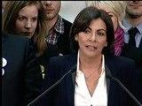Anne Hidalgo remercie les électeurs des 12e et 14e arrondissements de Paris - 23/03