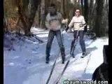 Régis Fait Du Ski-Voiture