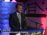 Perpignan: Louis Aliot (FN) devant l'UMP