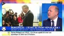 """Bruno Le Roux : le PS mènera """"partout une stratégie locale"""" pour battre le FN"""