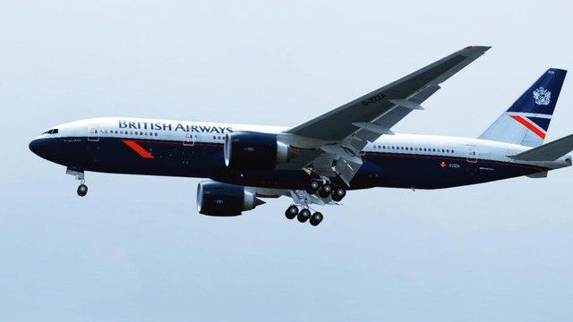 FSX British Boeing 777 Landing @ Alicante RWY 10 ( HD )