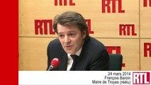 """VIDÉO - """"Lorsque la gauche est au pouvoir, il y a une montée du FN"""", selon François Baroin"""
