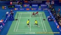 Craziest Badminton Volley Ever