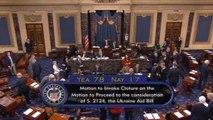 Ukraine aid bill moves ahead in U.S. Senate, hurdles still ahead