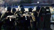 Thousands of Russian troops deployed near Ukraine border