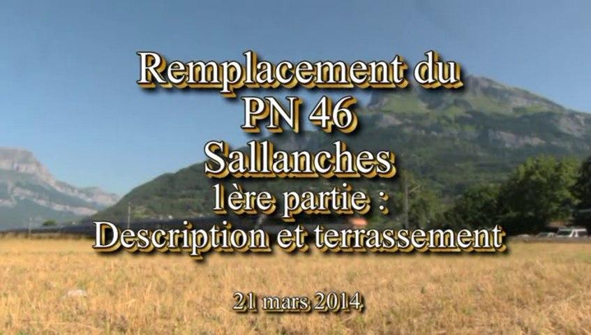 Remplacement du PN 46 Sallanches part1