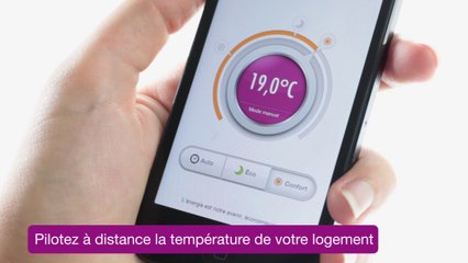 Le Thermostat Connecté par GDF SUEZ DolceVita
