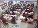 Un élève chinois saute par la fenêtre
