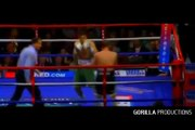 Pakistani boxer Amir Khan beating the Hell out of Isreali boxer watch video.