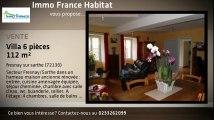 Vente - maison/villa - fresnay sur sarthe (72130)  - 112m²