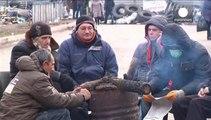Ucrania: separatistas prorrusos siguen al pie de las barricadas