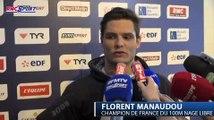 Natation / Championnats de France - Florent Manaudou, meilleur au finish - 12/04