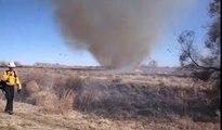 Tumbleweed Fire Tornado - Firestorm Tornado - Mother Nature