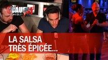 Cours de Salsa pour Cauet très épicé aux goûts de Jeff et Amir !