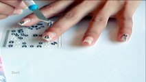 Stickers pour ongles sur ongles naturels. Des ongles Chics.