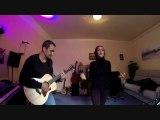 Diamonds Rihanna à la guitare acoustique avec Chris et Myna au chant