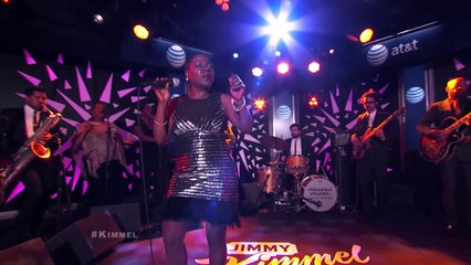 """Sharon Jones & The Dap-Kings Performs """"People Don't Get What They Deserve"""" @ Jimmy Kimmel"""